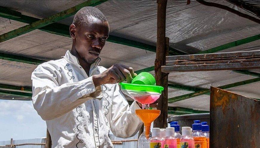 The Burundian Refugee Soap Maker Who Is Fighting Coronavirus In Kenya
