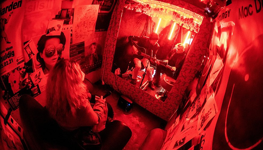 German Band Turn Van Into Concert Venue: Fans Rock Out, One At A Time