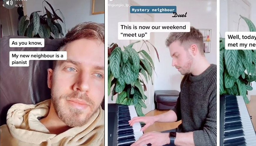 How Two Neighbors Met Playing Piano Through The Wall