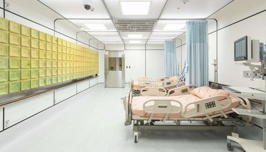 This Is The Hospital Ward Made From Trash