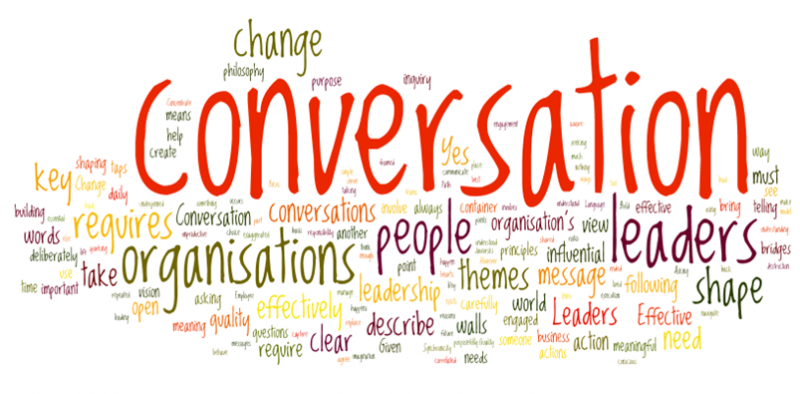 talking it out the new conversation centered leadership by alan s