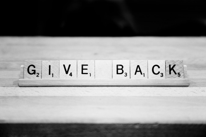 Image result for give back