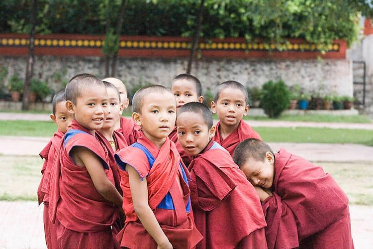 3 Little Monks and a Moment of Truth Tibetanboys