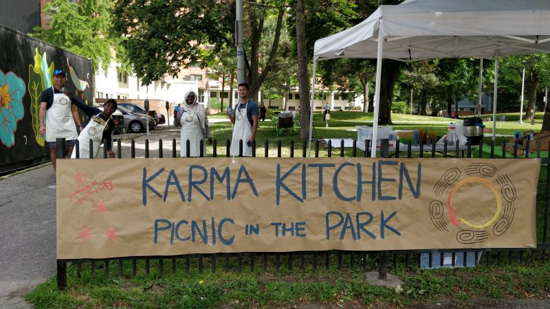 Karma Kitchen in the Park
