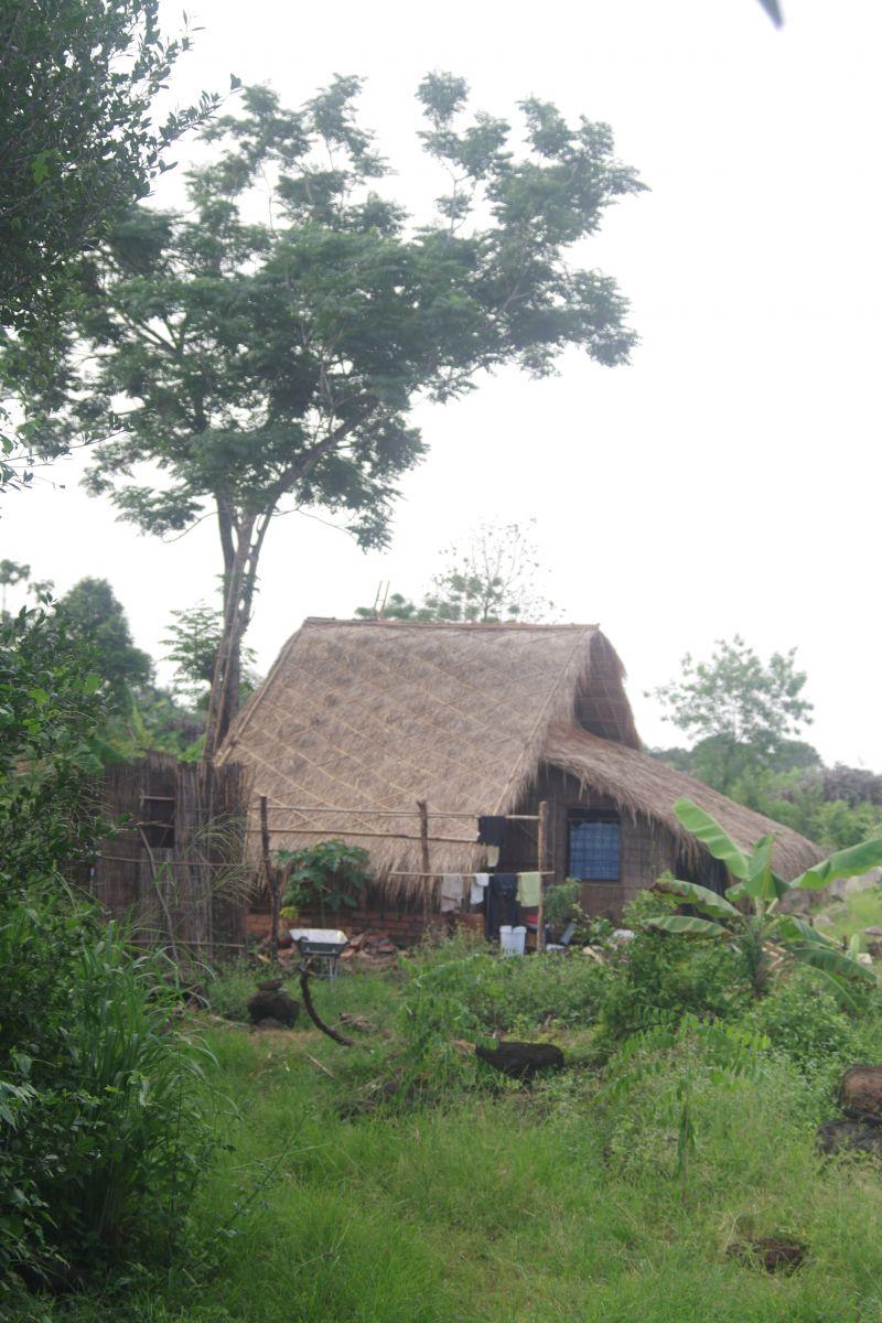 Huy & Vy's straw hut