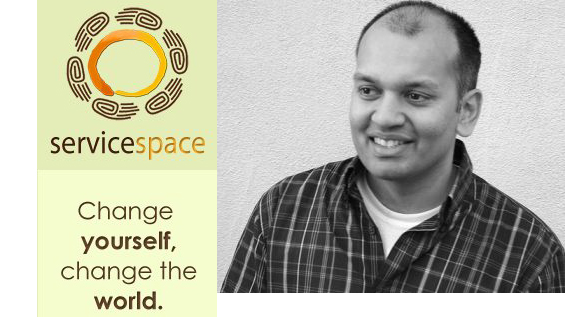 Image result for Nipun Mehta founder of ServiceSpace
