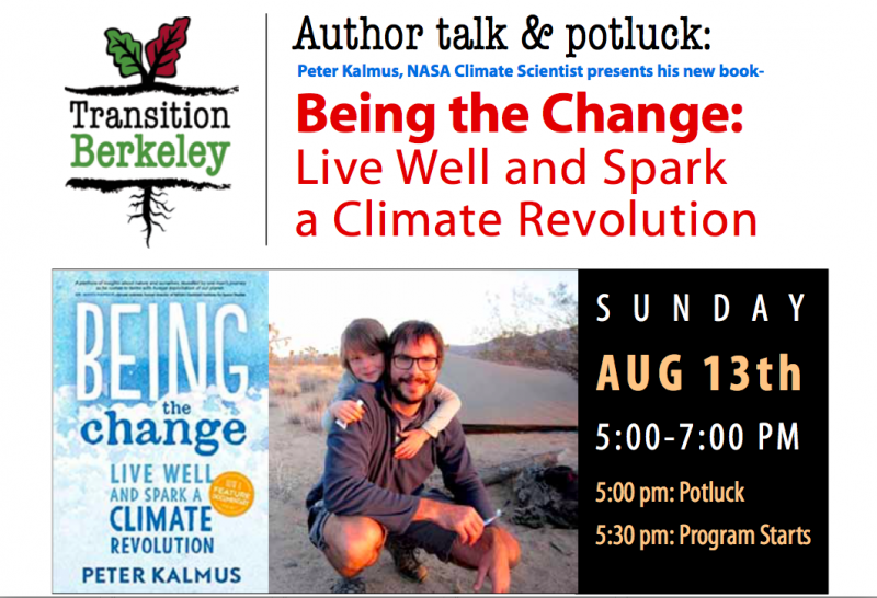 being the change live well and spark a climate revolution